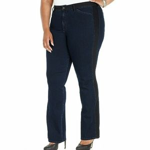 💟HP💟  NYDJ Meryl tuxedo stripe jeans
